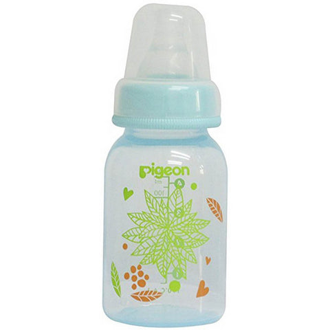PERISTALTIC CLEAR NURSING BOTTLE RPP 240ML & 120ml FLORAL(Blue)