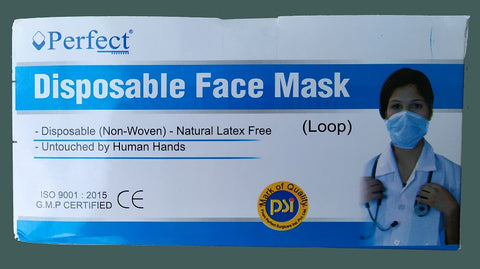 Perfect Disposable Face Mask - Box of 50