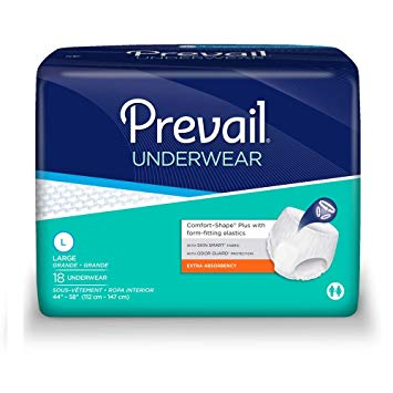 Prevail Extra Absorbency , Underwear Style Diapers , L