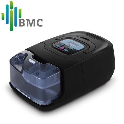 BMC Auto CPAP for Sleep Snoring and Apnea with Full Face Respirator Sleep Mask Air Filter Accessories - QMS Surgicals