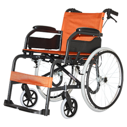 CHAMPION 100 AB (DIAMOND BLACK) WHEEL CHAIR - QMS Surgicals