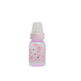 PERISTALTIC CLEAR NURSING BOTTLE RPP  (PINK) ABSTRACT
