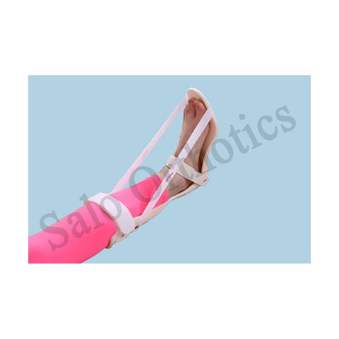 Code: 102A Static Foot Drop Splint (Full Padding) - QMS Surgicals
