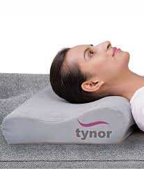 Contoured Cervical Pillow is designed to keep the neck in the slightly hyperextension position at night to counter the muscular strain generated in the day where we tend to keep the neck in the flexion position. It cures the cervical problems while you sleep.