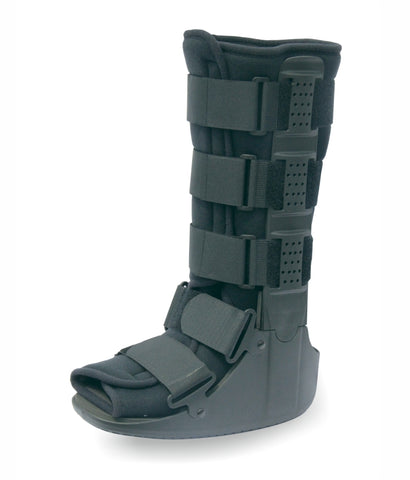 Tynor Walker Boot is designed for rehabilitation after injury, fracture , sprains or surgery of foot, ankle or lower leg. The boots provide support to the ankle and leg without inhibiting mobility.