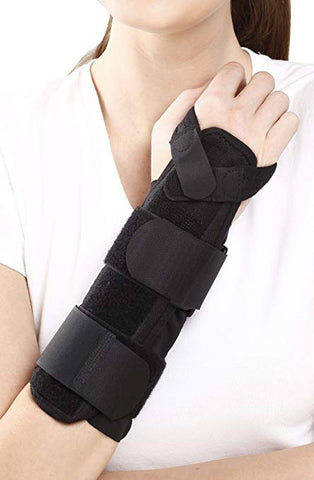 Tynor E-30 Forearm Splint is a long brace designed to provide splinting support to radius and ulna and immobilize
