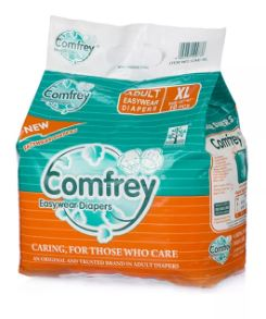 Comfrey Easy Wear Pant Type Adult Diaper XL - QMS Surgicals