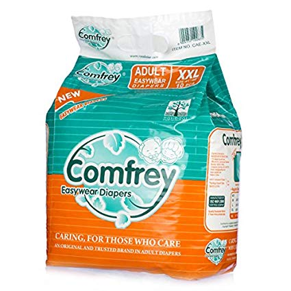 Comfrey Easy Wear Pant Type Adult Diaper XXL - QMS Surgicals