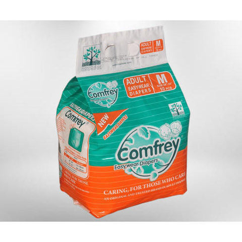 Comfrey Easy Wear Pant Type Adult Diaper M - QMS Surgicals
