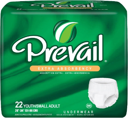 Prevail Extra Pull On Small Disposable Moderate Absorbency