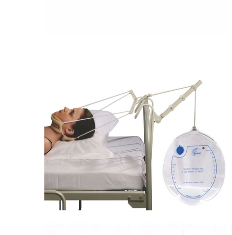 Cervical Traction Kit (Sleeping) With Weight Bag - QMS Surgicals