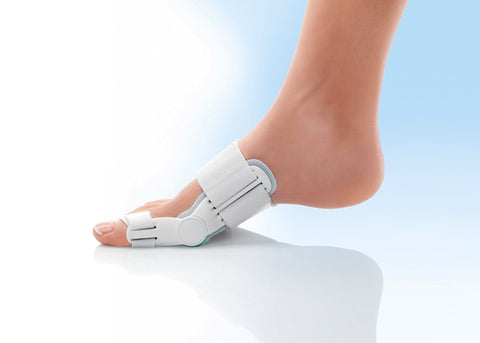 Bunion aid is a hinged bunion splint with adjustable straps ,to protect from Hallux Valgus