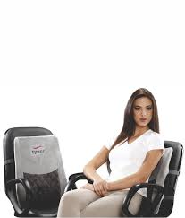 Back Rest maintains the natural low back curve and relieves the anterior pressure on the vertebras.