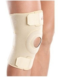 Tynor J-05 Knee Wrap (Neoprene) offers an advantage of easy application on swollen or asymmetric knees and to geriatrics. It allows customized compression, not possible in tubular products. Neoprene fabric provides firm compression, warmth & support to the knee to allay pain and inflammation, generally associated with old age, arthritis, sports injury etc.