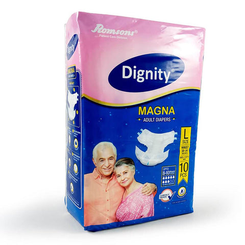 Dignity Magna Adult Diaper - QMS Surgicals