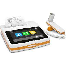 touch screen,bluetooth,standard alone mode or PC mode based spirometer