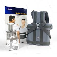 Taylor brace short long type by tynor is a light weight spinal brace that provides adjustable support and excellent spine immobilization.