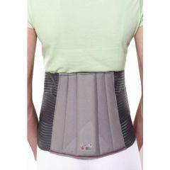 LUMBO SACRAL BELT  is used to support and immobilize the lumbosacral region and correct the postural deformity to relieve low back pain syndrome.