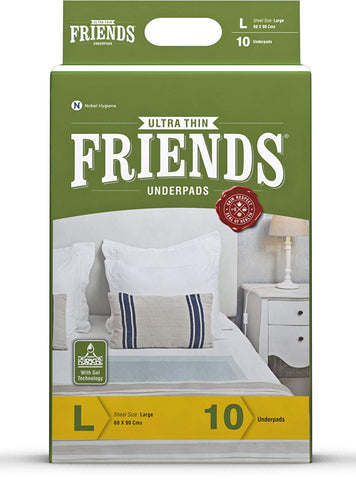 Friends Ultrathin Underpads - Large