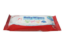 BABY WIPES ( Pure Water) 10 pieces - QMS Surgicals