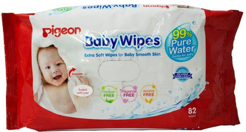 Baby wipes 82pc - QMS Surgicals