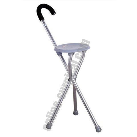 Walking Stick With Seat WS-109