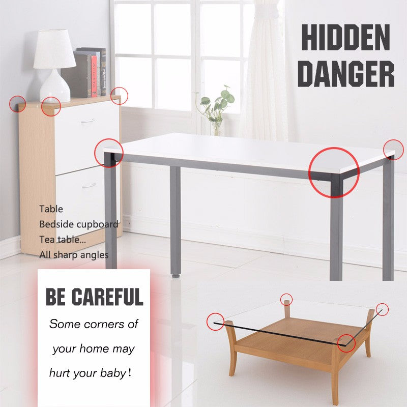 Baby Safety Silicone Protector Table Corner Edge Protection Edge & Corner Guards
