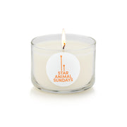 Star Animal Sundays Meditation Candle