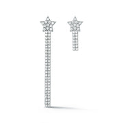 Boucles d'oreilles Rising Star Diamond Logo