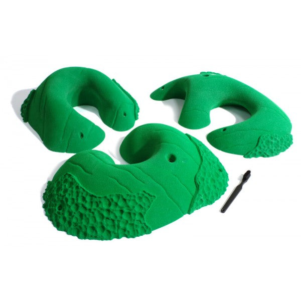 Rock Climbing Holds and Grips - huecos, slopers