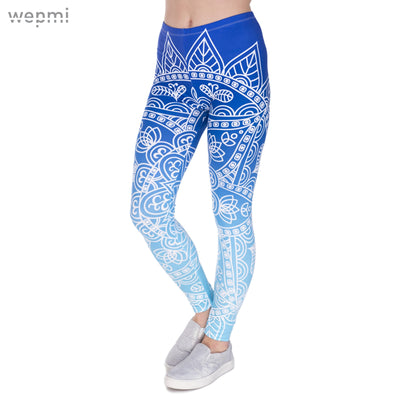 Mandala Bloom Printed Leggings