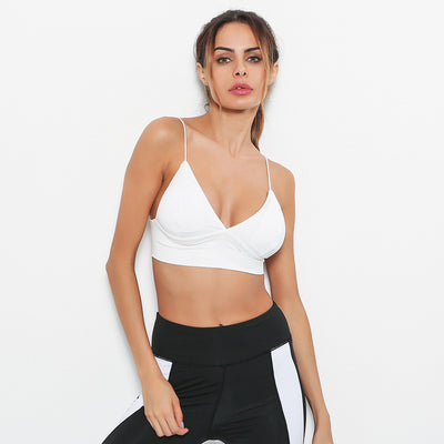 Women's Supportive White Sports bra