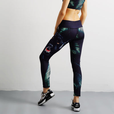 3D printed patterned leggings