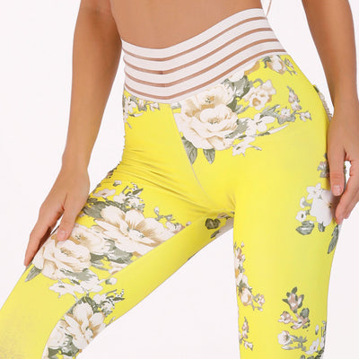 Floral Printed Leggings with pockets