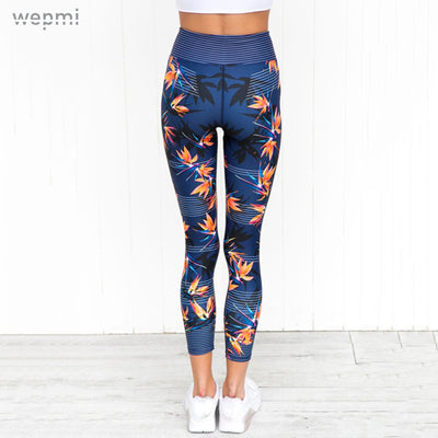 Royal Sport Floral Leggings