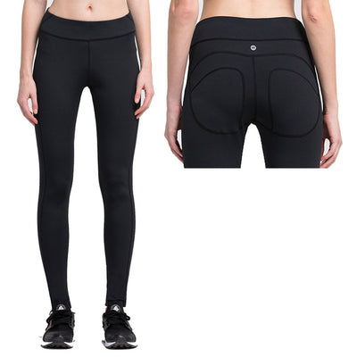 Pushup Lined Solid Workout Leggings