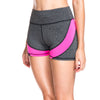 Rosa Striped Gym Shorts