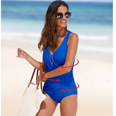 Wrap-around One Piece Swimsuit