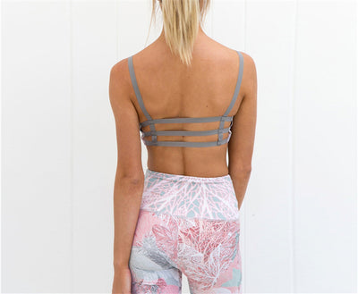 Pastel Passion Fitness Set Leggings + Sports bra