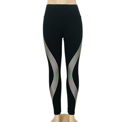 Luma™ Striped Reflective Leggings