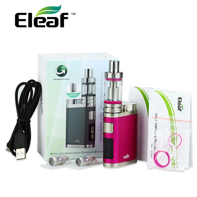 Eleaf iSmoka or iStick Pico Mega TC Vaping Kit 80W
