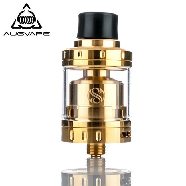 Augvape Merlin mini RTA Atomizer Gold Plated Dual Coil