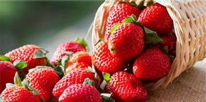 Strawberry- The Healthy Fun Snack.