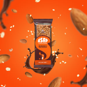 ASAP Bars Almond and Dark Chocolate