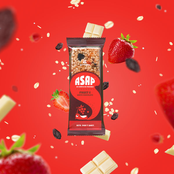 ASAP Bars Fruit and White Chocolate
