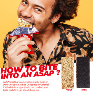 ASAP Assorted Box of Three Granola Bars, 105g