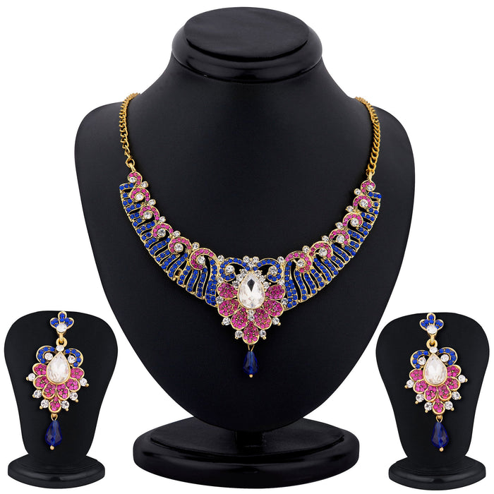 Sukkhi color stone necklace set - 1159VN2250