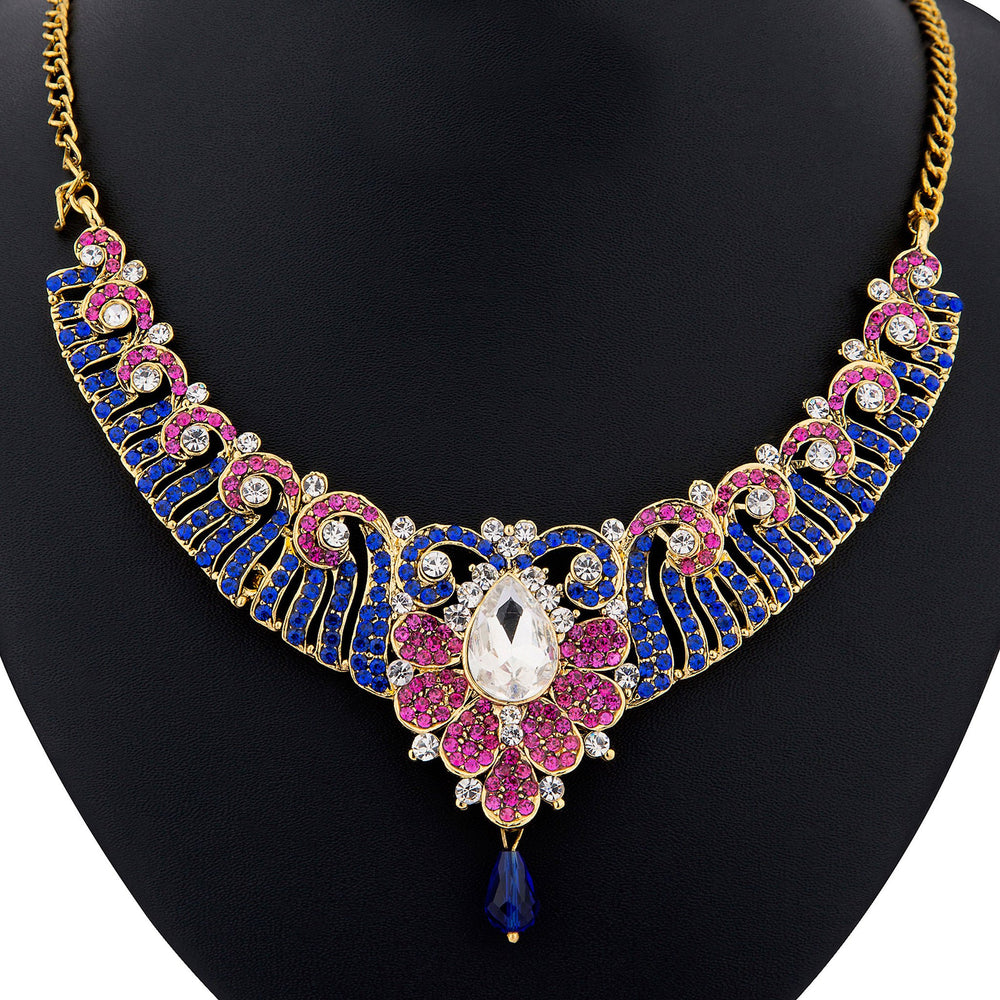 Sukkhi color stone necklace set - 1159VN2250-1