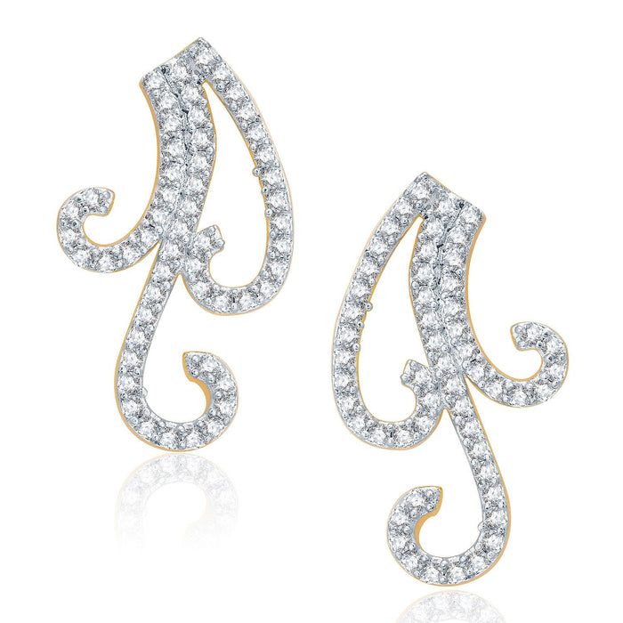 Pissara Lovely Gold And Rhodium Plated CZ Mangalasutra Set For Women-2