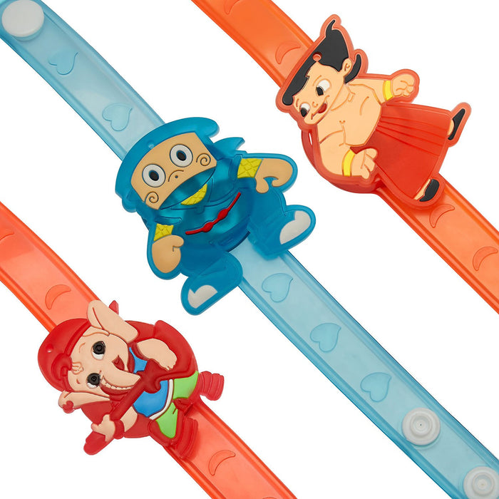 Sukkhi Cartoon Characters Set of 3 Kids Rakhi Combo